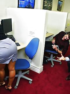 Mature Office Pics
